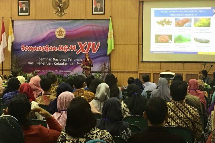 Seminar nasional kelautan dan perikanan UGM