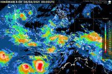 Update: Siklon Tropis Seroja Meningkat, 4 Provinsi Ini Diminta Waspada