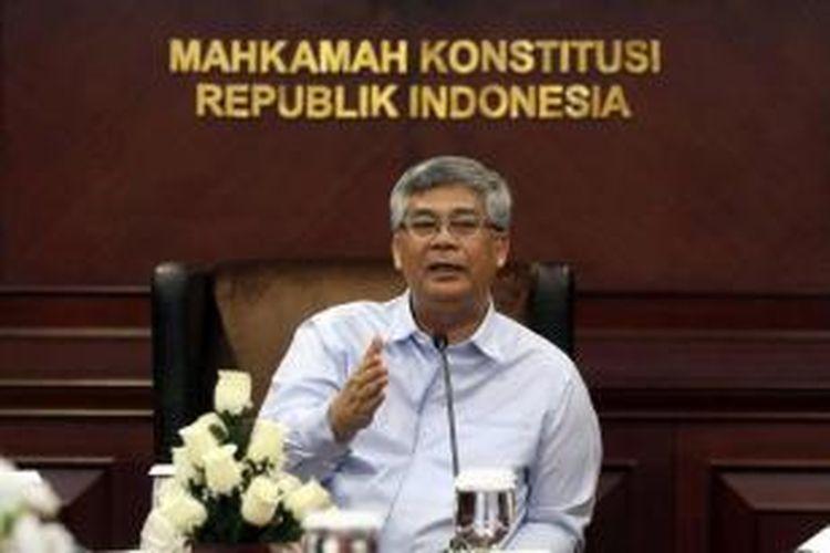 Ketua Mahkamah Konstitusi Akil Mochtar.