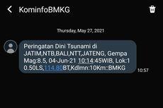 [POPULER SAINS] Klarifikasi BMKG Soal SMS Gempa M 8,5 | Cara Memahami Matematika