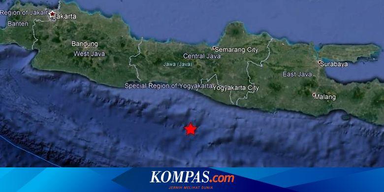 Gempa Hari Ini M 5 1 Guncang Jawa Tengah Dan Yogyakarta Halaman All Kompas Com