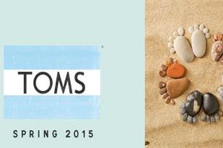 Mulai tanggal 5 hingga 21 Mei 2015 ini, label sepatu kasual asal Amerika, TOMS, mengajak pengguna Instagram di seluruh dunia untuk mengikuti sebuah gerakan sosial global lewat unggahan foto bertajuk #WITHOUTSHOES.
