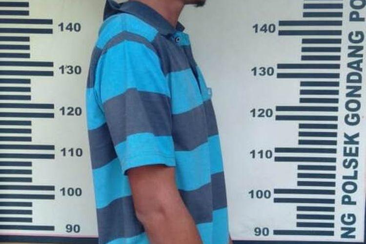 Pelaku pencurian telepon genggam di 13 TKP, ditangkap jajaran Polres Tulungagung Jawa Timur (10/07/2020).