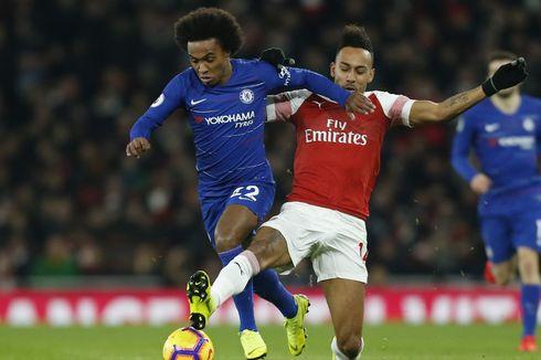 Aubameyang Jadi Salah Satu Alasan Willian Berlabuh ke Arsenal