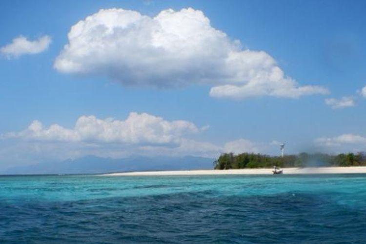 Ilustrasi pulau
