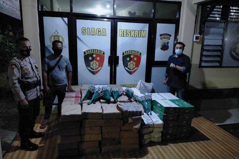 Gelar Operasi Sekat Pemudik di Perbatasan Banyumas, Polisi Malah Sita 13.000 Petasan