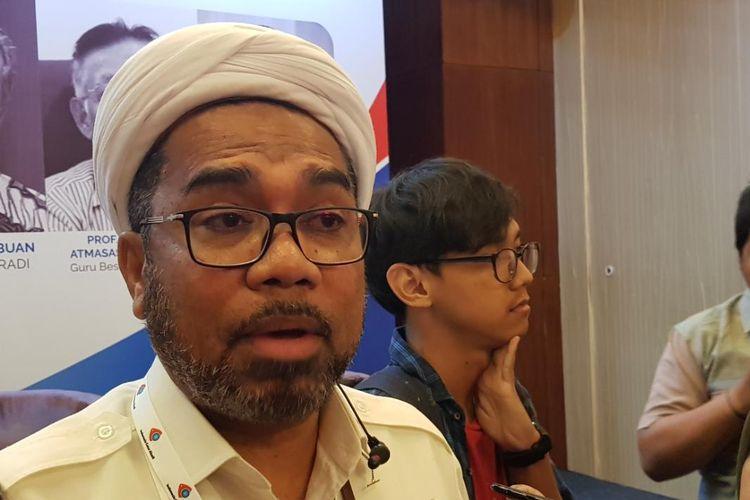 Utama Kantor Staf Presiden Ali Mochtar Ngabalin saat ditemui di kawasan M.H. Thamrin, Jakarta Pusat, Jumat (4/10/2019).
