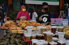 Penjual Takjil di Salatiga Diminta Jaga Jarak dan Pakai Masker