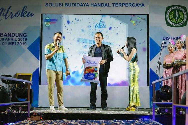 PT Pupuk Kujang   meluncurkan produk barunya Nitroku 16-16-16 di Hotel Java Bandung, Jawa Barat, Selasa (30/4/2019).