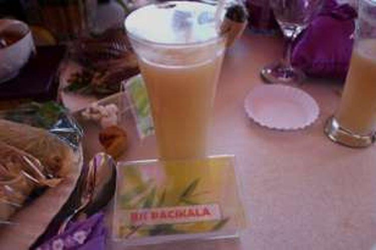Jus Patikala ini menjadi menu favorit  Kolaka Utara ini tampil dalam pesta Kuliner Sultra.