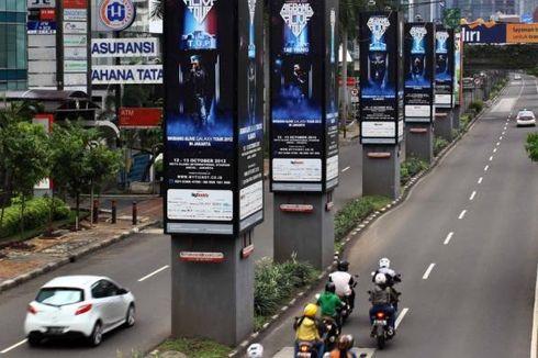 Tiang-tiang Monorel di Jalan Rasuna Said Akan Dibongkar