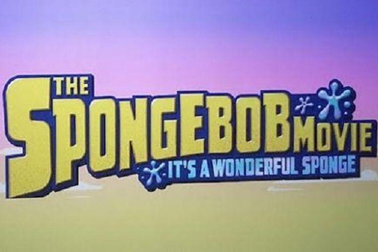 Poster film The SpongeBob Movie: Its a Wonderful Sponge.