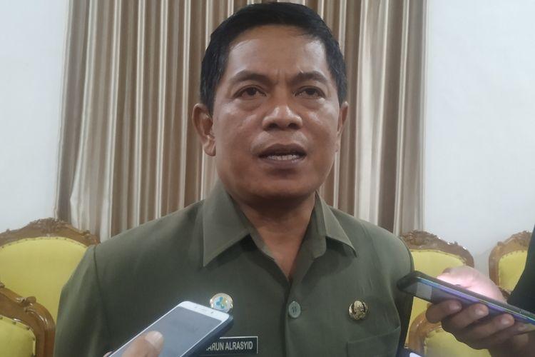 Kepala Dinas Kesehatan (Dinkes) Kabupaten Sukabumi, Harun Al-Rasyid