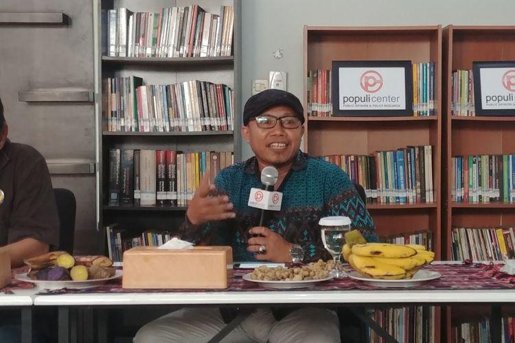Ketua Umum Pimpinan Pusat Pemuda Muhammadiyah Sunanto, di Jakarta, Kamis (6/12/2018).