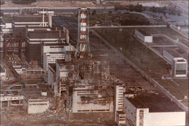 Ledakan reaktor nuklir di pembangkit Chernobyl