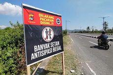 Ada Plang Banyak Setan di Jalan ke Bandara Lombok, Ini Penjelasan Polisi
