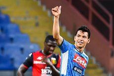 Genoa Vs Napoli, Lozano Sukses Tentukan Kemenangan Partenopei