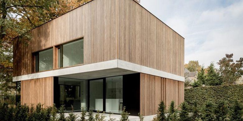 3 Pilihan Desain Atap Modern Bisa Diterapkan Di Rumah Halaman All Kompas Com