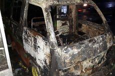 Polisi Kaji Hasil Rekaman CCTV Pembakaran Kendaraan di Grobogan