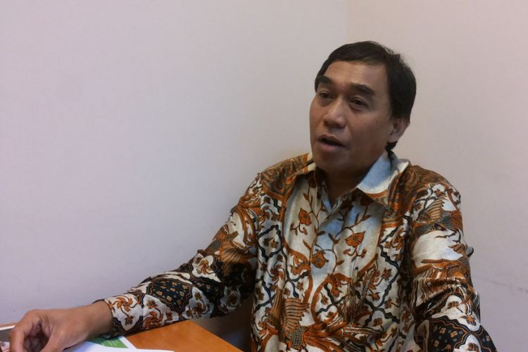 Wakil Rektor III Universitas Gunadarma, Irwan Bastian saat ditemui di Kampus Universitas Gunadarman, Jalan Margonda, Depok, Senin (17/7/2017).