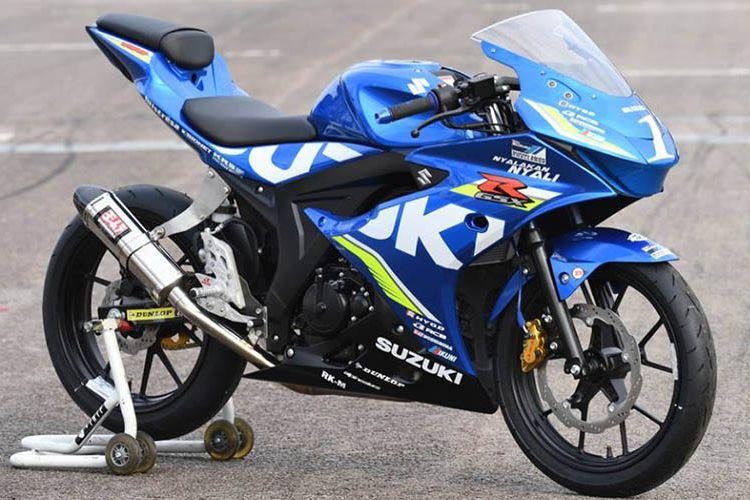 Suzuki GSX-R 150 resmi jadi motor balap di Suzuki Asian Challenge 2017