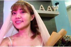 Steffy eks Cherrybelle Pakai Gaun Pengantin di Hari Pernikahannya yang Batal