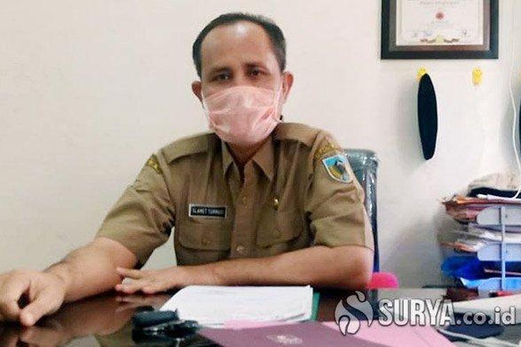Sekretaris Gugus Tugas Covid-19 Kabupaten Kediri, Slamet Turmudi.