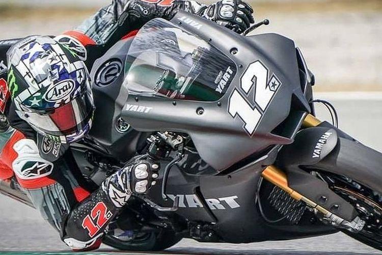 Yamaha YZF-R1 bekas dipakai Maverick Vinales untuk latihan dijual oleh YART
