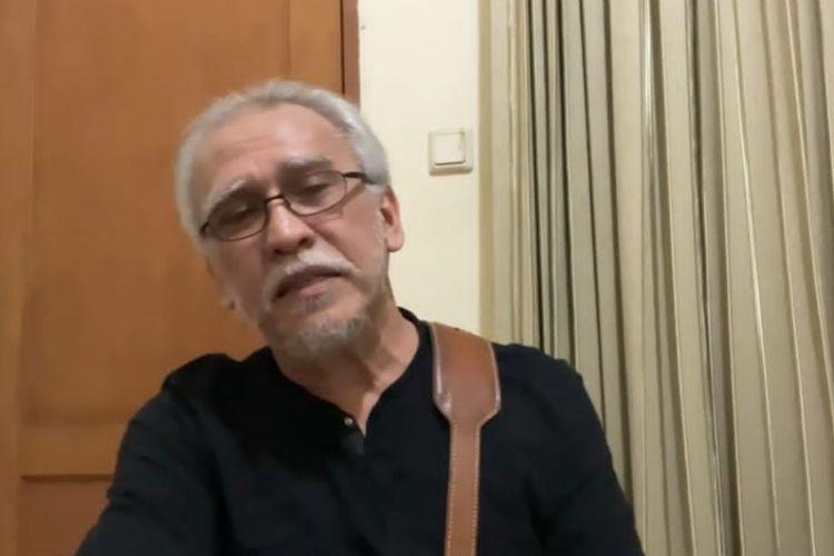 Iwan Fals menceritakan proses persalinan Galang Rambu Anarki. (Bidikan layar YouTube Iwan Fals Musica).