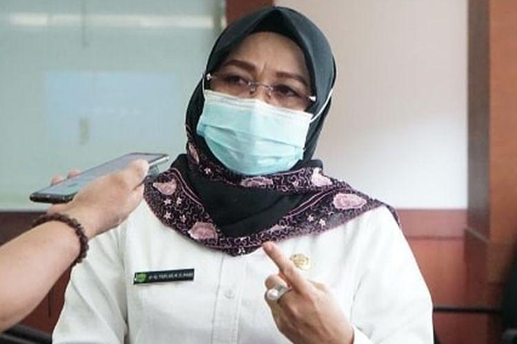 Kepala Dinas Kesehatan Kalimantan Timur Padilah Mante Runa.