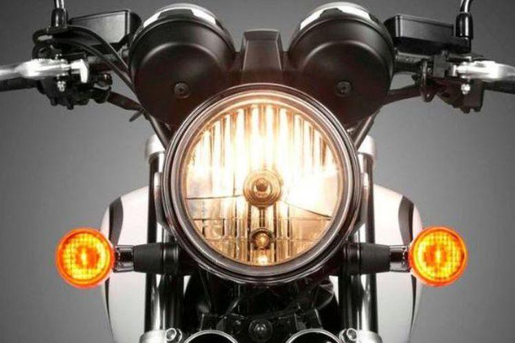 lampu sein motor