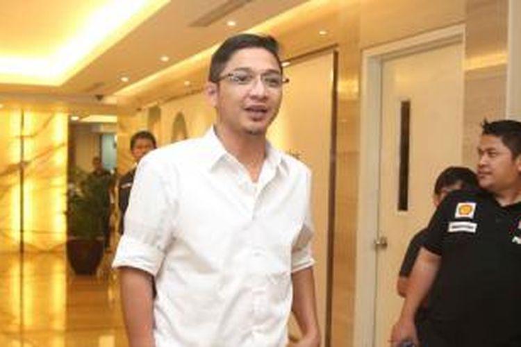 Pasha 'Ungu' saat ditemui di Rumah Sakit Pondok Indah, Jakarta Selatan, Senin (7/12/2015).