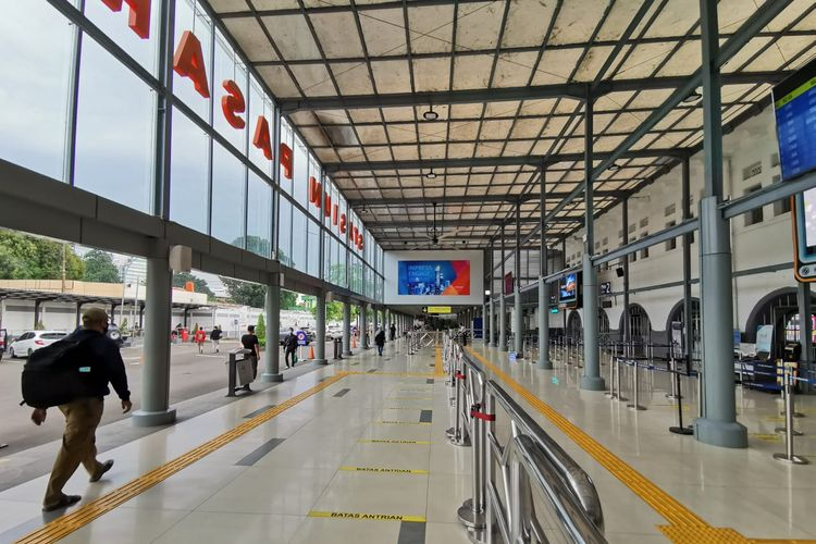 PT Kereta Api Indonesia Daop 1 Jakarta berlakukan Gapeka baru pada 10 Februari 2021.