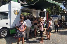 Lewat Food Truck, Turis Terdampak Gempa Lombok Bisa Makan dan Minum Gratis