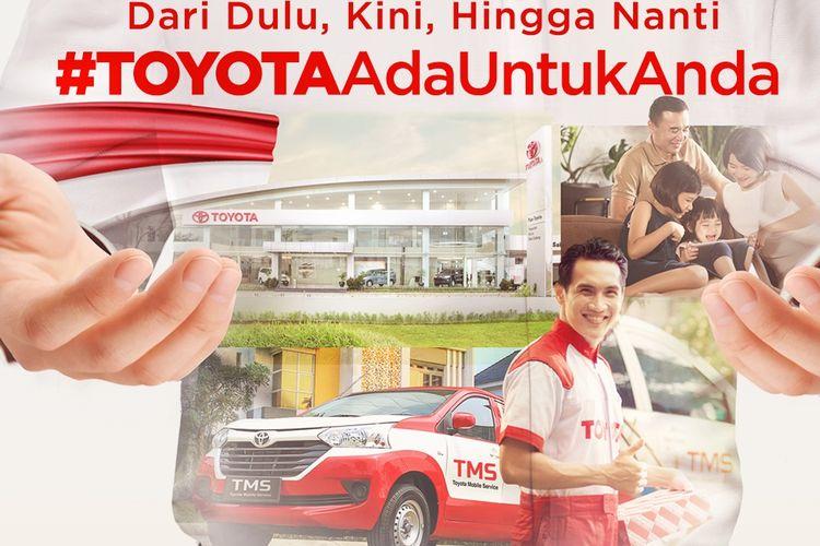 Ilustrasi program penjualan Toyota