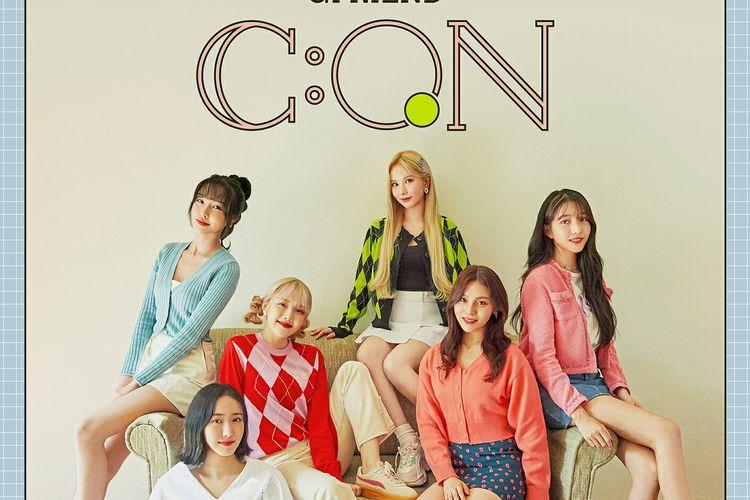 Girl group GFRIEND dalam poster untuk konser online G C:ON pada 31 Oktober mendatang.