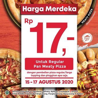 Promo kemerdekaan dari pizza hut indonesia