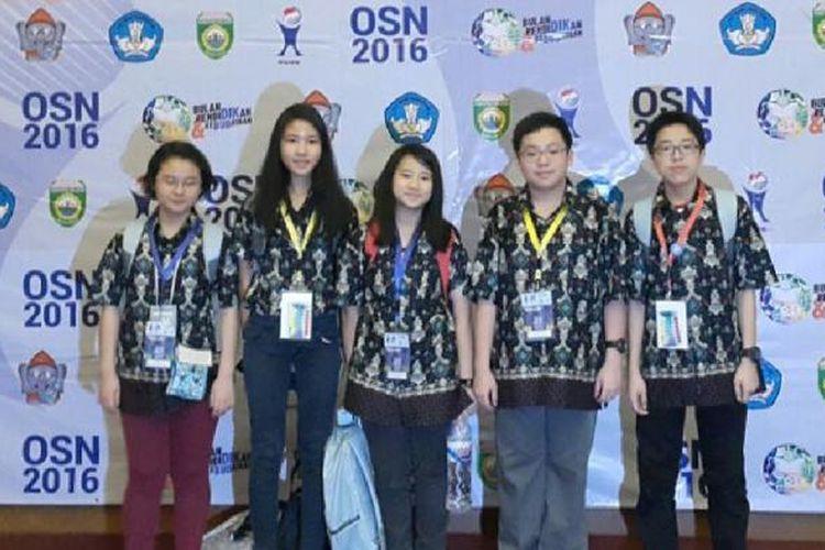 Sebanyak 12 pelajar sekolah IPEKA meraih beberapa medali sekaligus pada Olimpiade Sains Nasional (OSN) 2016 yang digelar di Palembang, Sumatera Selatan, 16-20 Mei 2016.