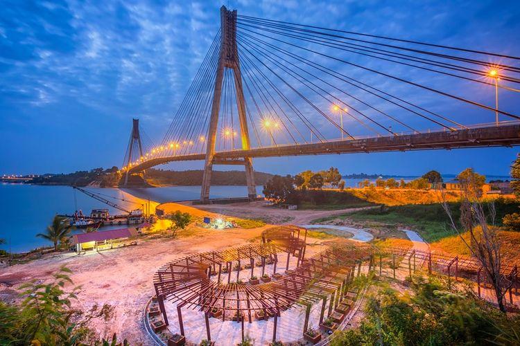 Jembatan Barelang yang jadi ikon Batam.