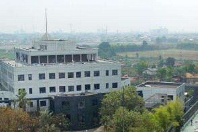 Gedung Kedutaan Besar Australia di kawasan Kuningan, Jakarta Selatan, Jumat (10/9/2004).