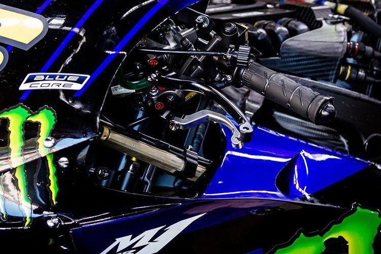 Modifikasi rem di motor MotoGP