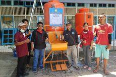 Bantu Pencegahan Penyebaran Corona, Pelajar SMK Buat Wastafel dengan Pedal