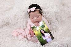 Potret Memilukan Seorang Bayi dengan Foto Ibu yang Tewas Tertabrak Menjelang Persalinan
