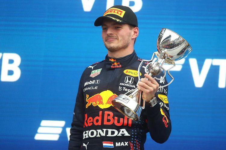 Pebalap andalan Red Bull Racing Max Verstappen