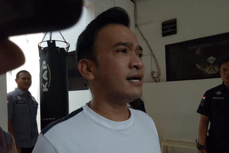 Artis Ruben Onsu di Polda Metro Jaya.