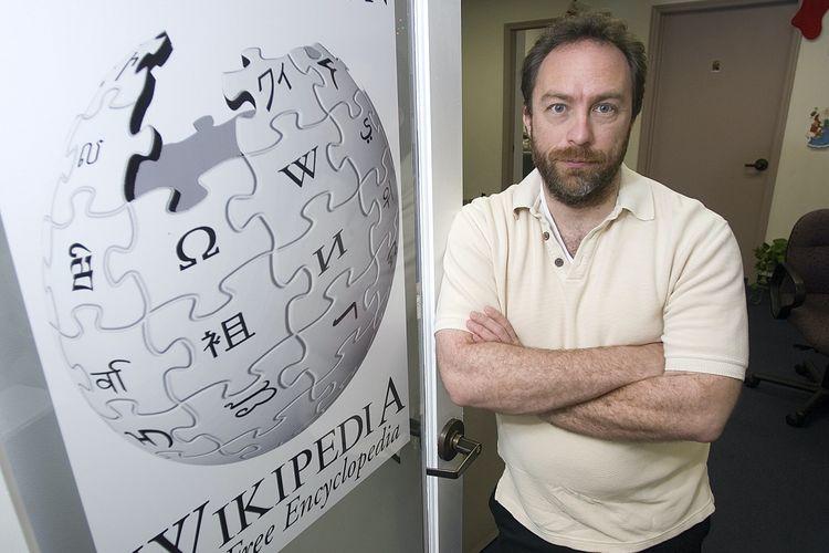 Pendiri Wikipedia, Jimmy Wales.