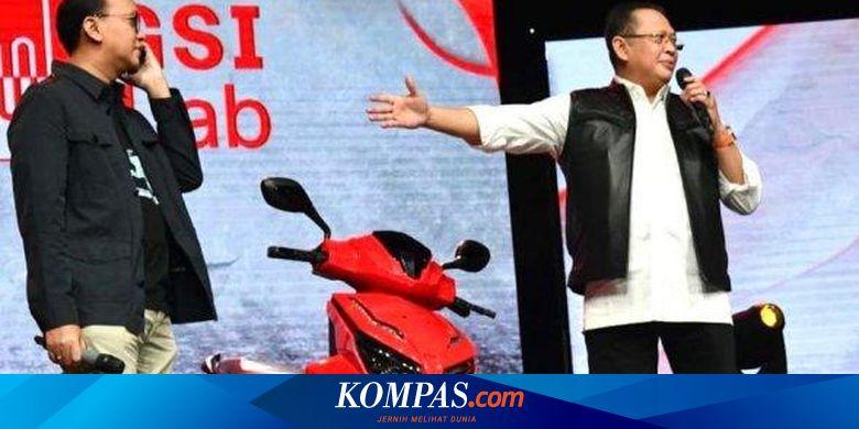Saat Motor Listrik Jokowi Dilelang Virtual, Ditawar Rp 2,55 Miliar, Pemenang Mengaku Pengusaha dari Jambi