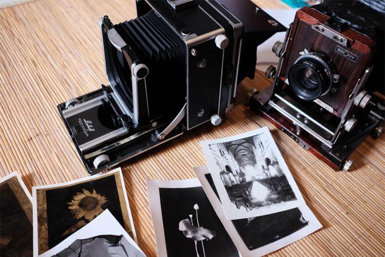 Kamera Large Format Linhoff Technika dan Ebony