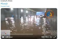 Sempat Banjir, Kolong Jembatan Dukuh Atas Sudah Bisa Dilewati Kendaraan
