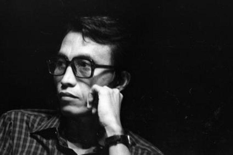 Sapardi Djoko Damono, sastrawan dan dosen UI pada Temu Kritikus dan Sastrawan, 12-16 Desember 1984.